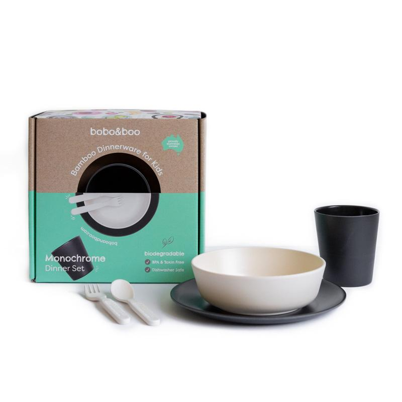 Bamboo Dinner Set (Monochrome)