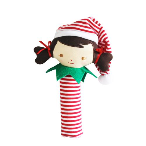 Cheeky Elf Girl Squeaker (Red)