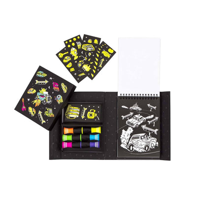 Neon Colouring Set (Road Stars)