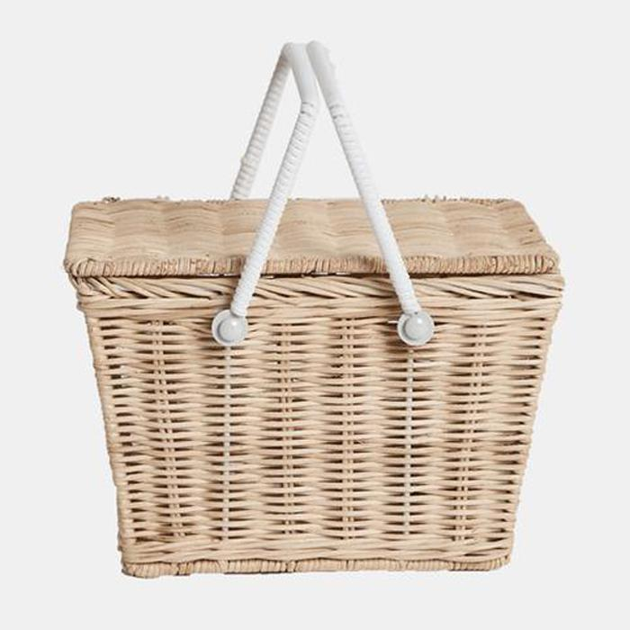 Kids Piki Basket (Straw)