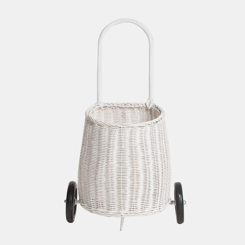 Kids Luggy Basket (White)