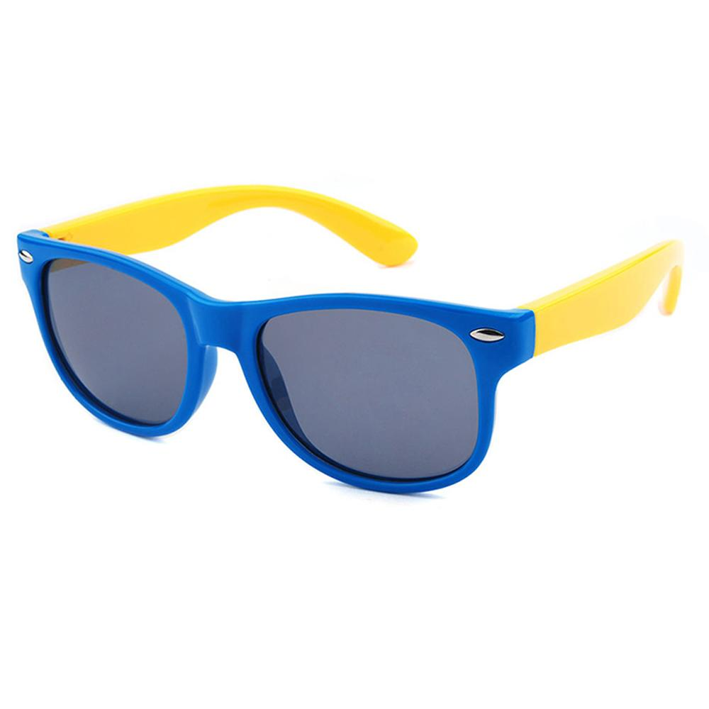 Cool Cat Sunglasses (Blue/Yellow)