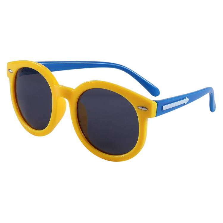 Shady Sunglasses (Yellow/Blue)