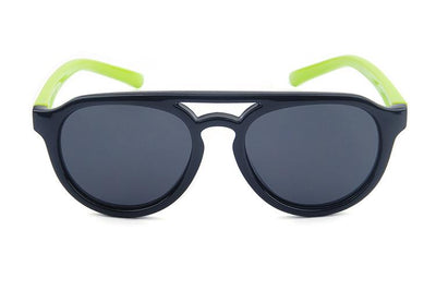 Hey Handsome Sunglasses (Black/Lime)