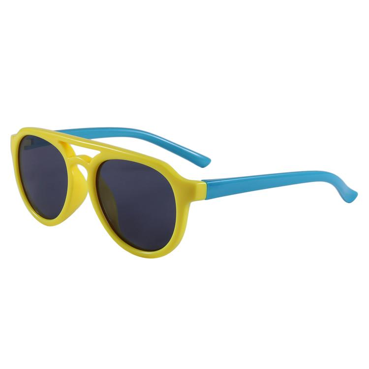 Hey Handsome Sunglasses (Yellow/Aqua)