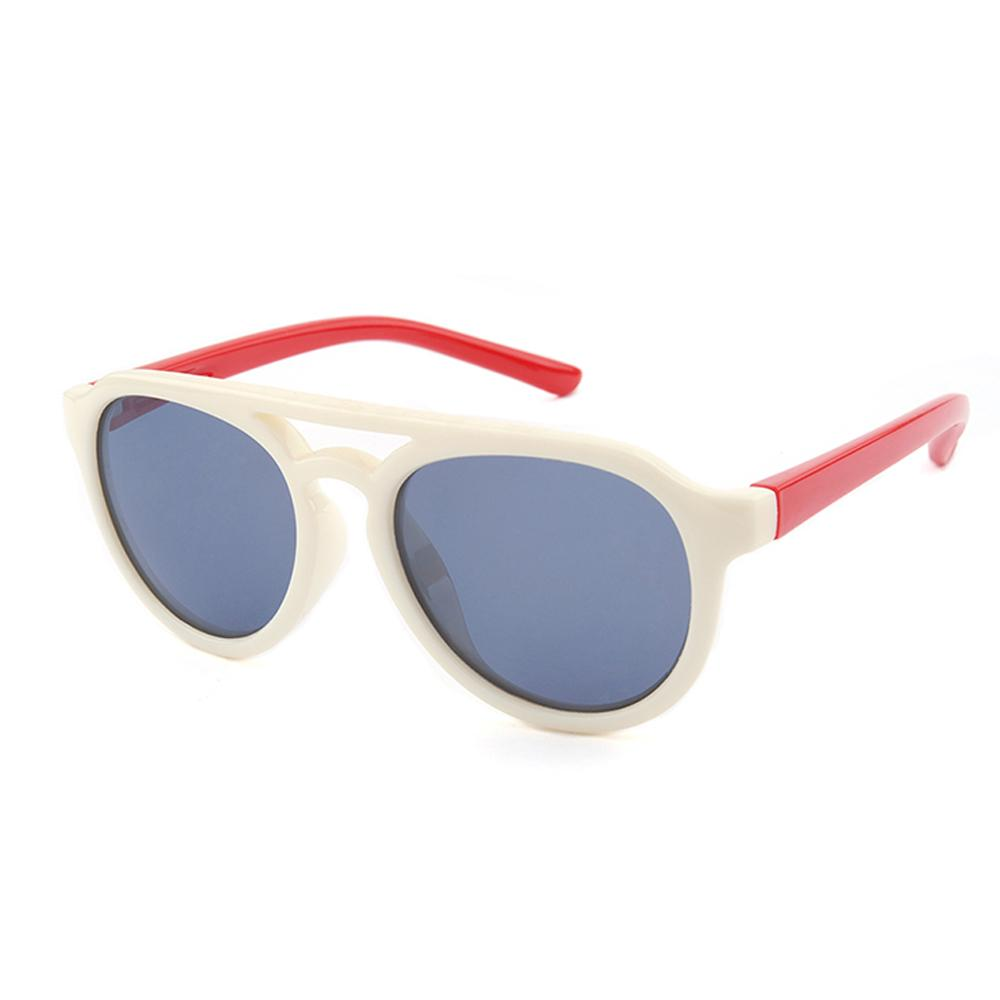 Hey Gorgeous Sunglasses (Cream/Red)