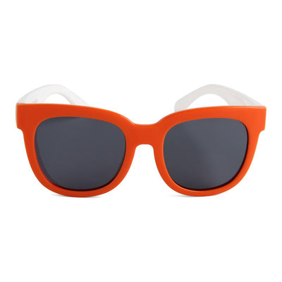 Eye Rollers Sunglasses (Orange/White)