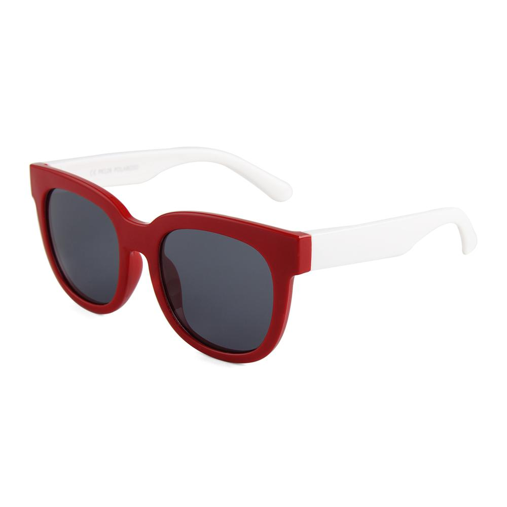 Eye Rollers Sunglasses (Red/White)
