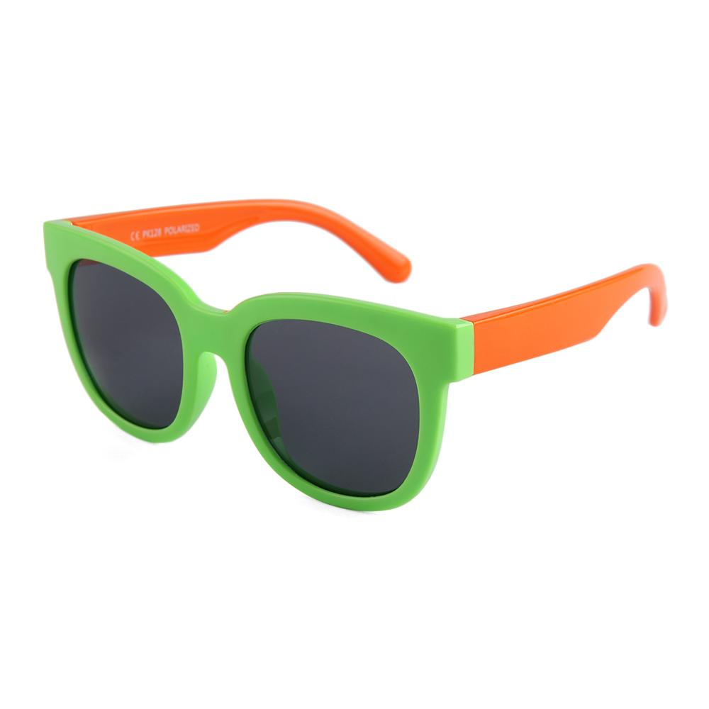 Eye Rollers Sunglasses (Lime/Orange)