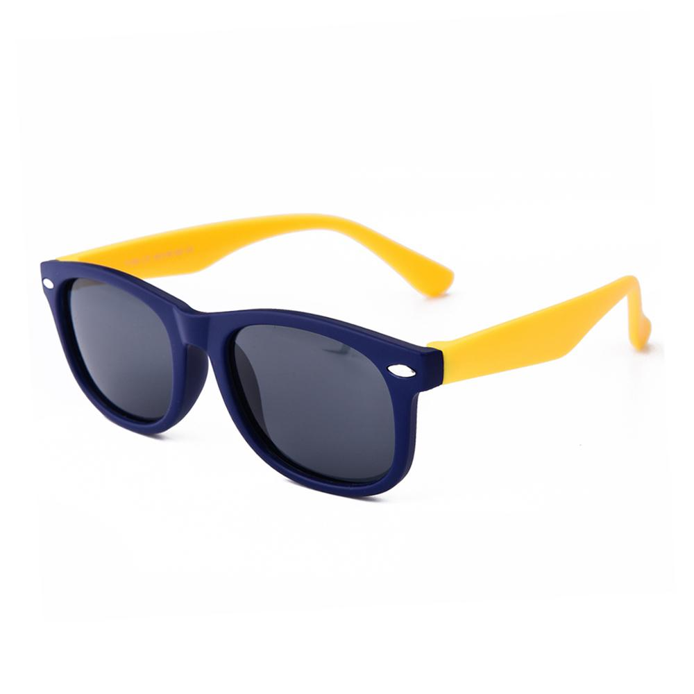 Retro Sunglasses (Purple/Yellow)