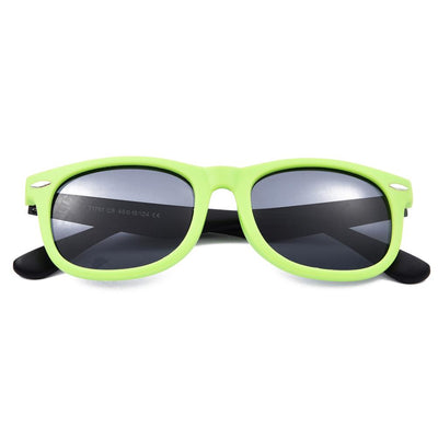Retro Sunglasses (Green/Black)