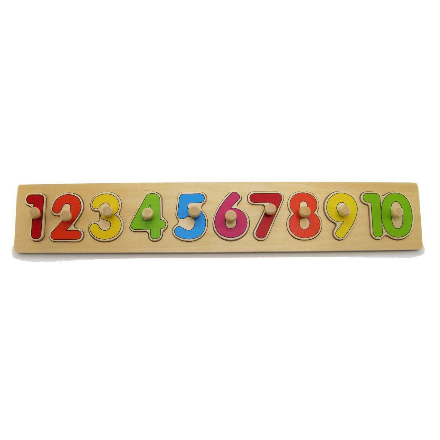 Wooden Number Puzzle