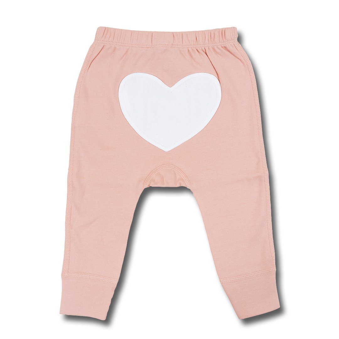 Blooming Pink Heart Pants