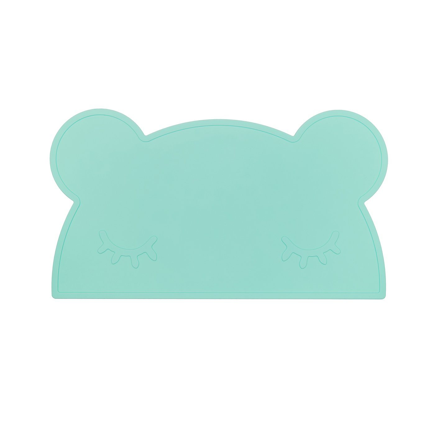 Bear Placemat (Minty Green)