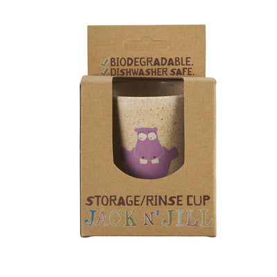 Rinse & Storage Cup - Hippo