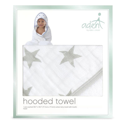 Dusty Stars Hooded Towel