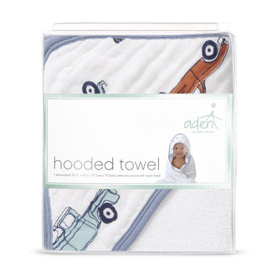 Hit the Road Hooded Towel