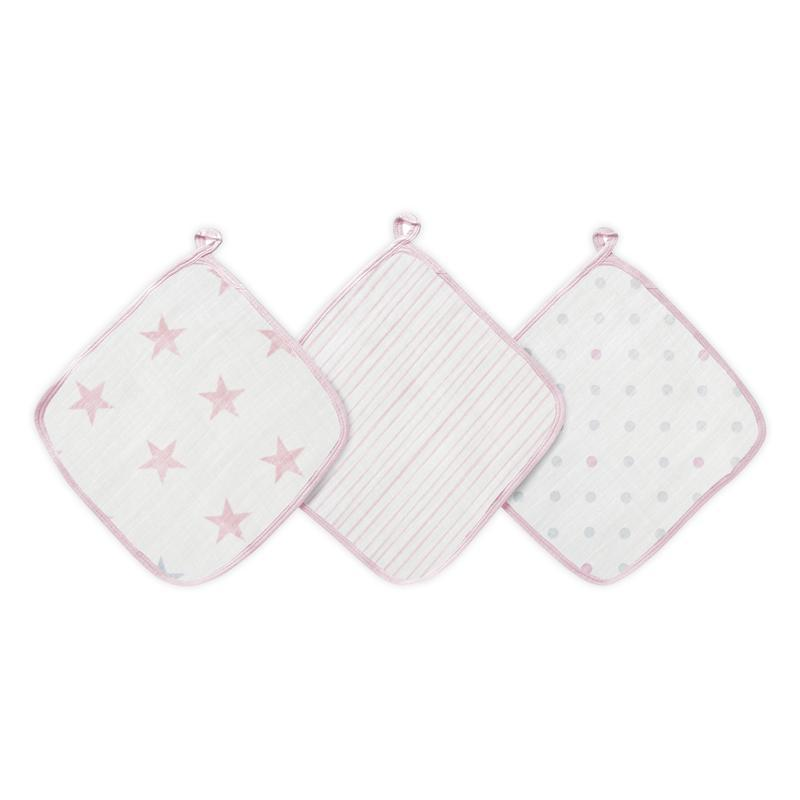Doll Wash Cloths (3 Pack)