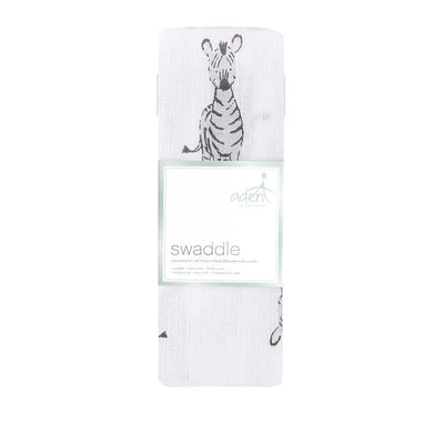 Safari Babes Single Swaddle (Zebra)