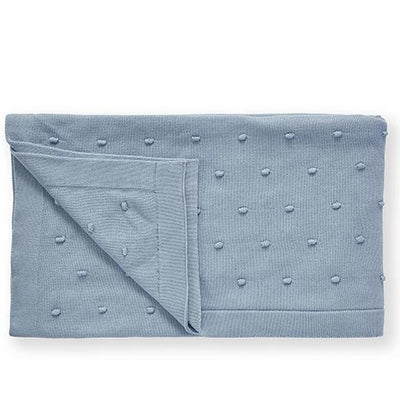 Bobble Baby Blanket (Blue)