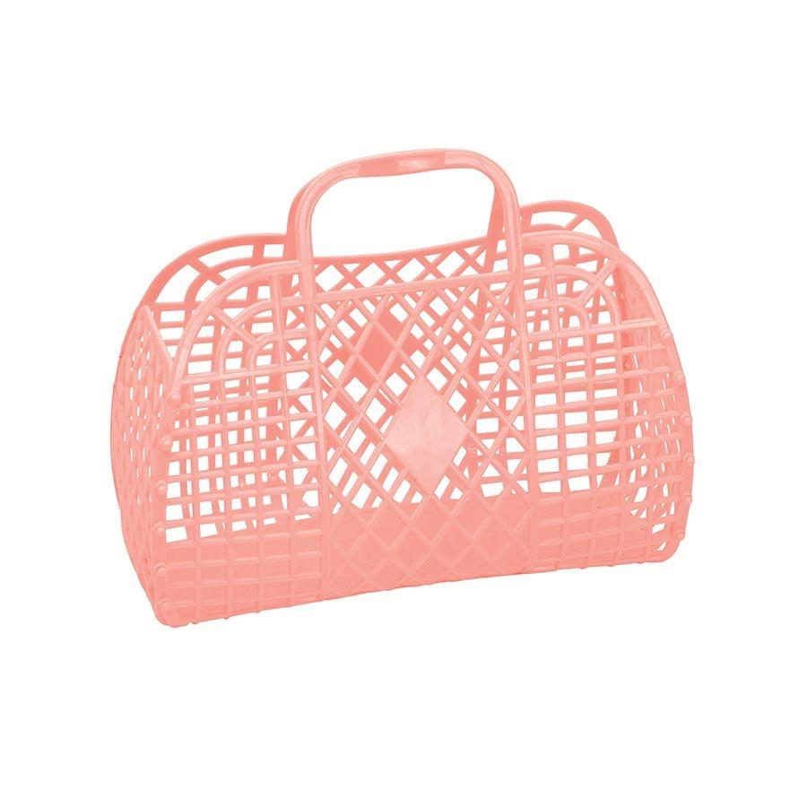 Small Retro Basket (Peach)