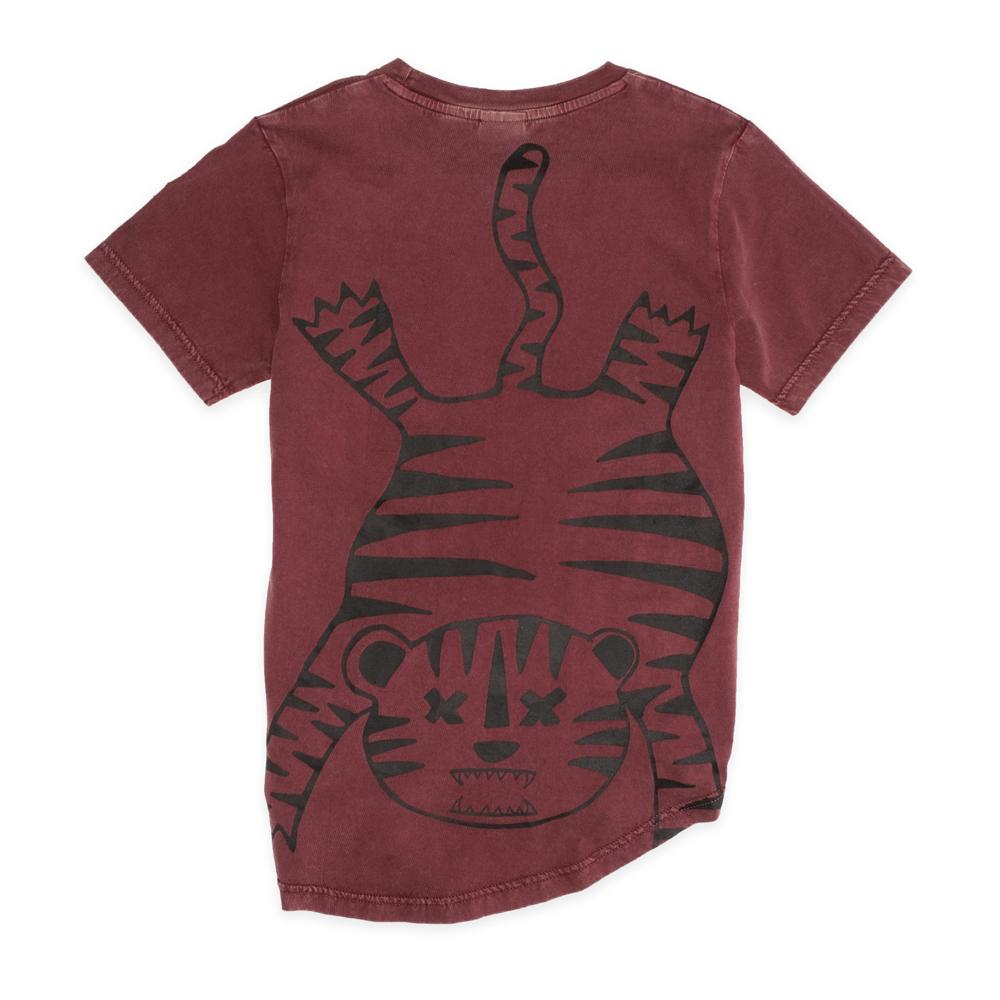 Tiger Outline SS Tee