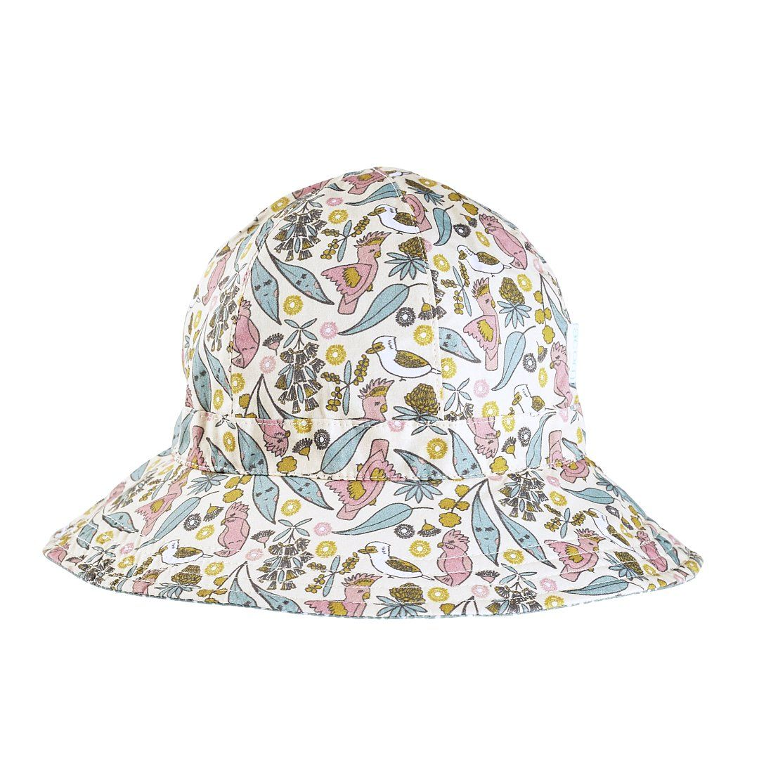 Australiana Floral Reversible Hat