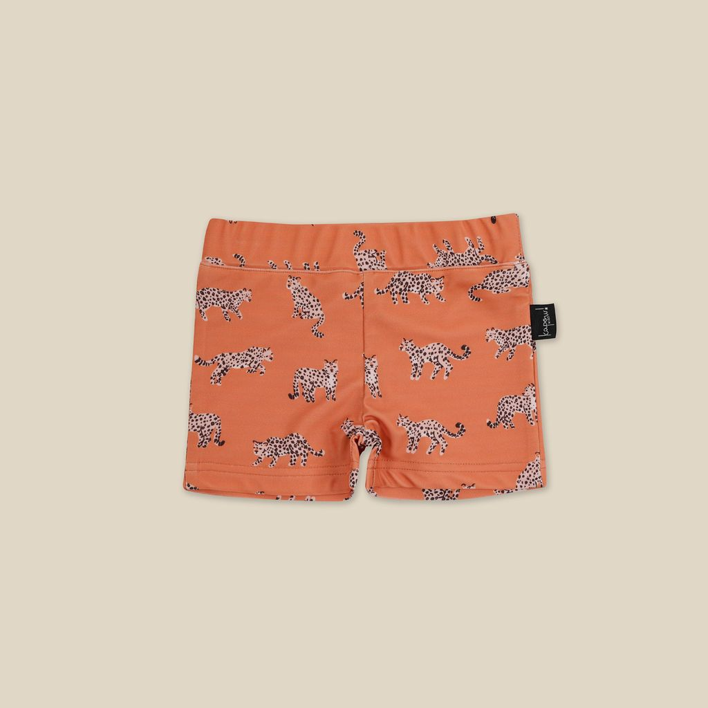 Crouching Leopard Swim Trunks
