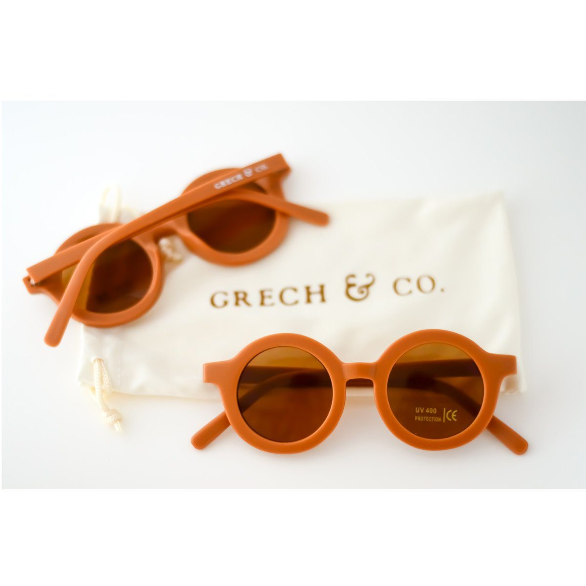 Sustainable Sunglasses (Spice)