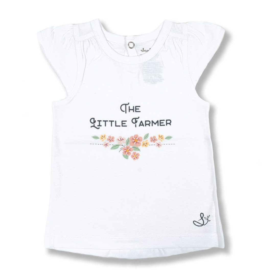 Little Farmer Flutter Tee
