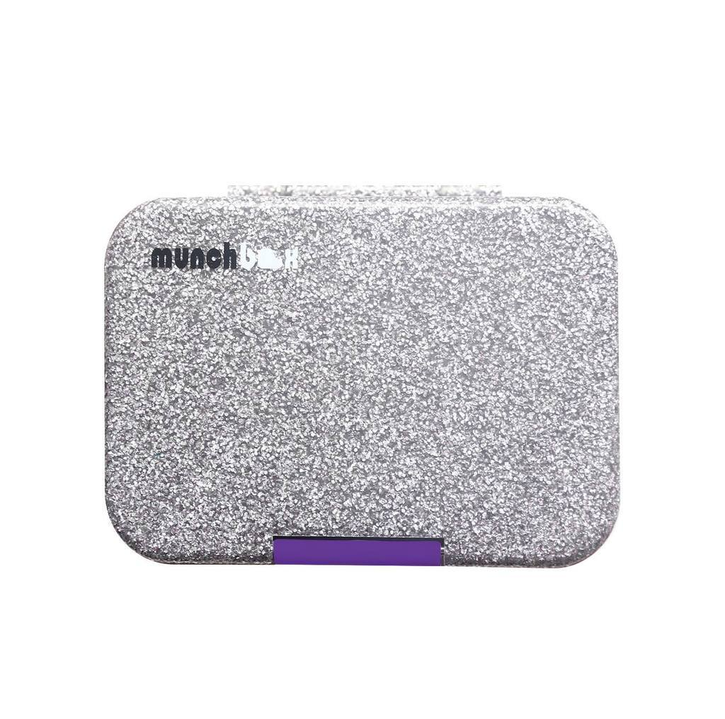 Munchi Sparkle Snack (Silver/Purple Latch)