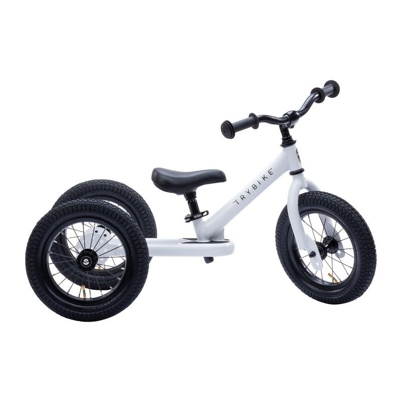 Steel 2 in 1 Trybike (White)