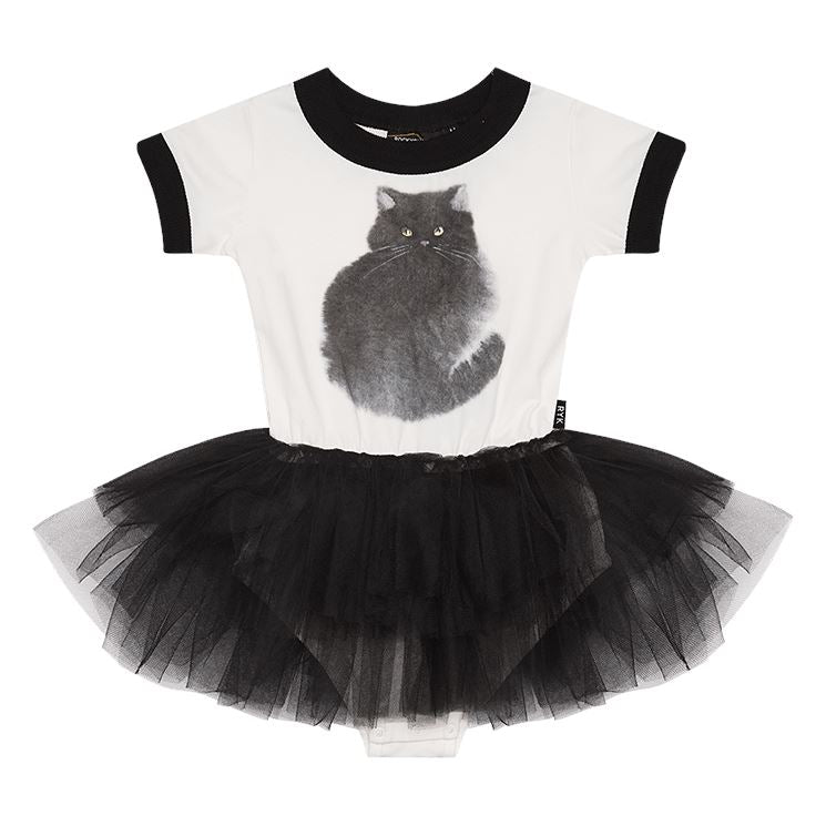 Black Cat Tutu Leotard