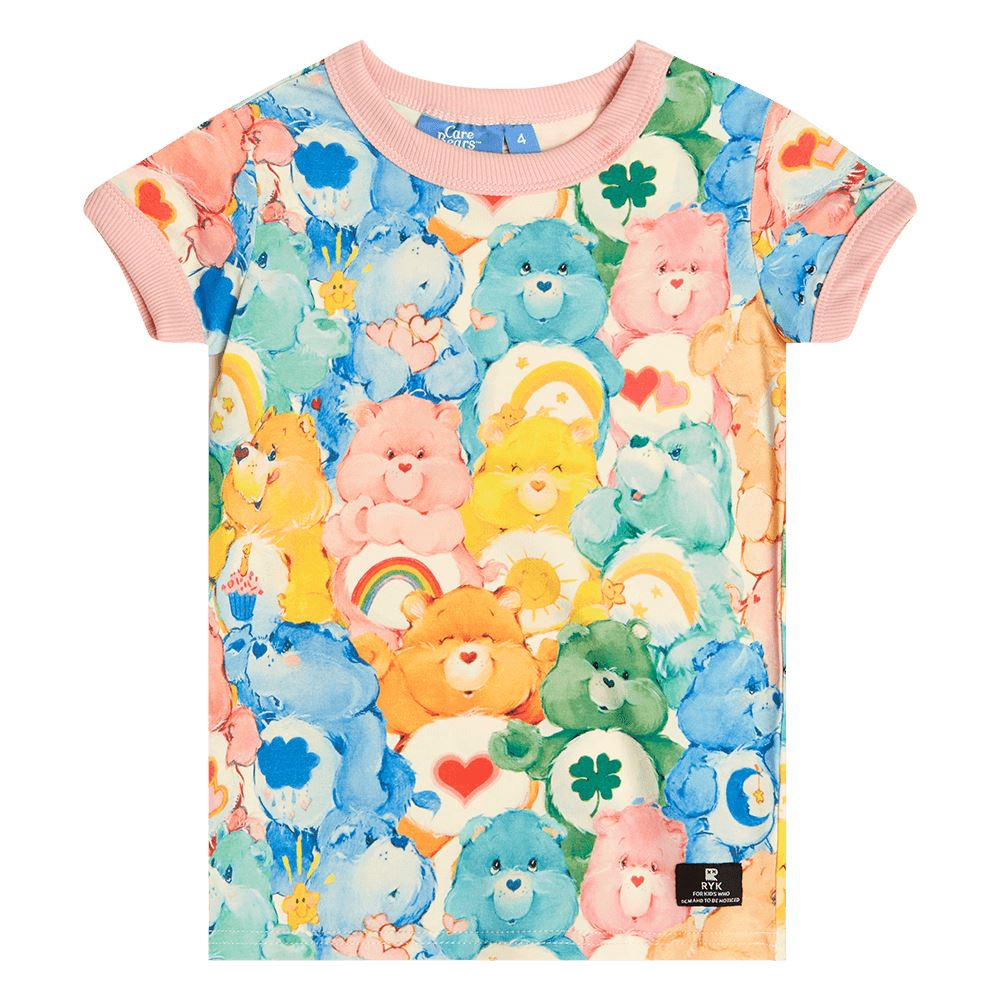 Care Bears Unite Ringer Tee