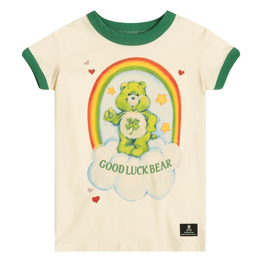 Good Luck Bear Ringer Tee