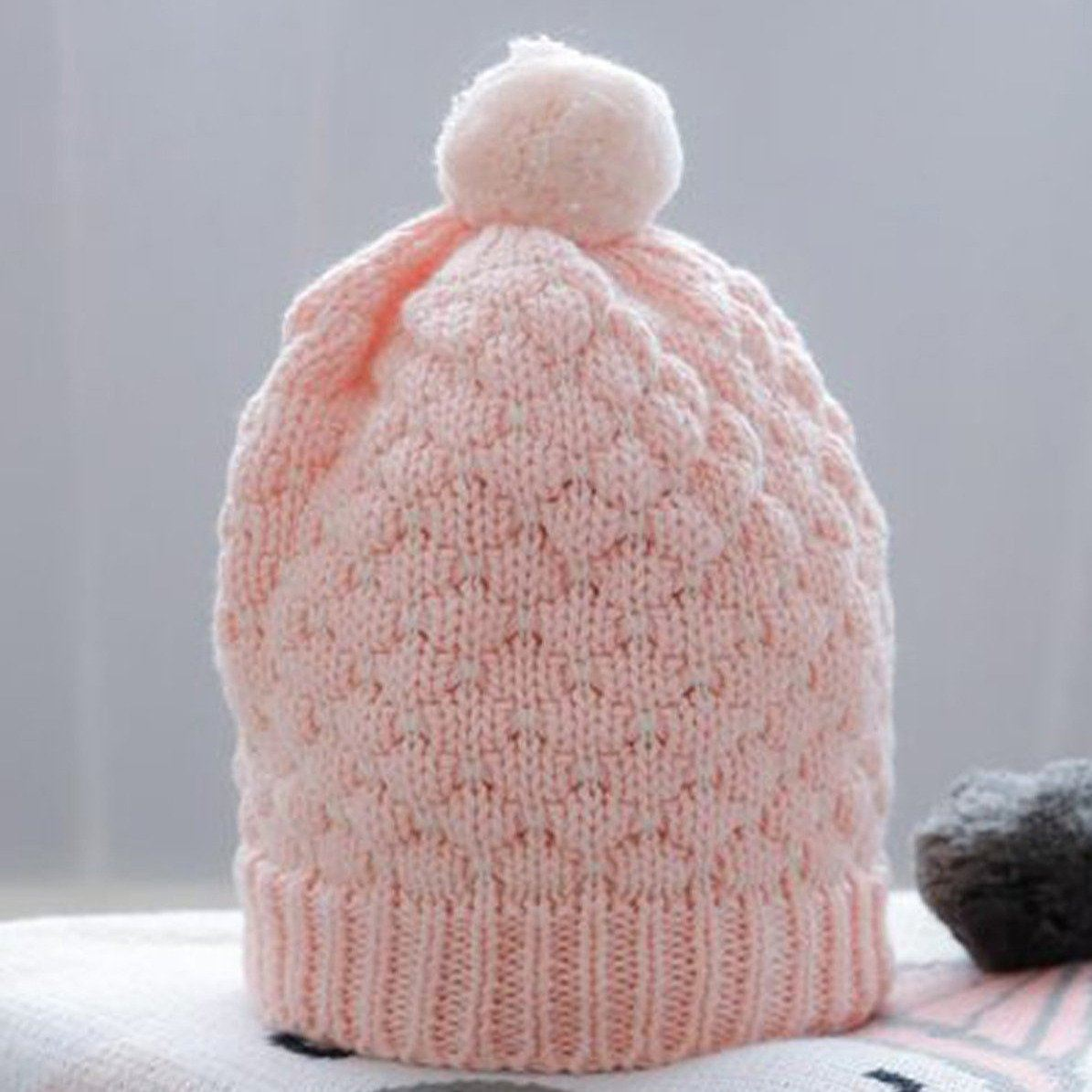 Milly Baby Beanie (Pink)