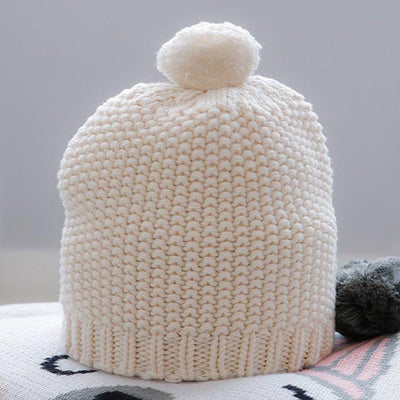 Mini Moss Baby Beanie (Natural)