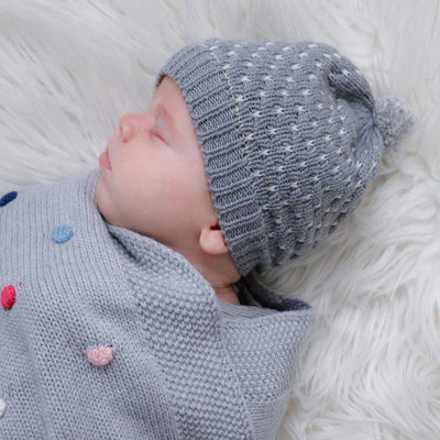 Milly Baby Beanie (Grey)