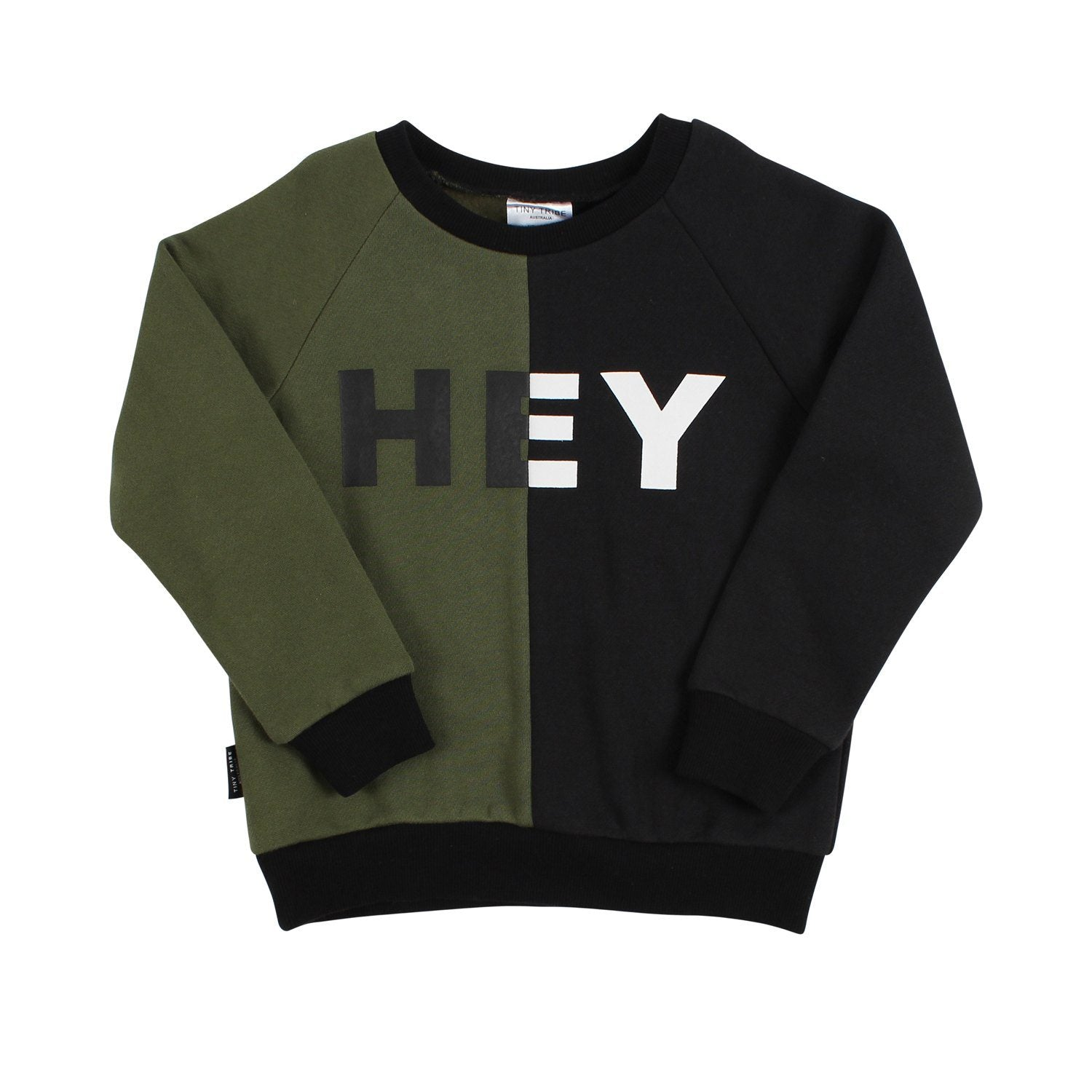 Hey Segment Sweat Top