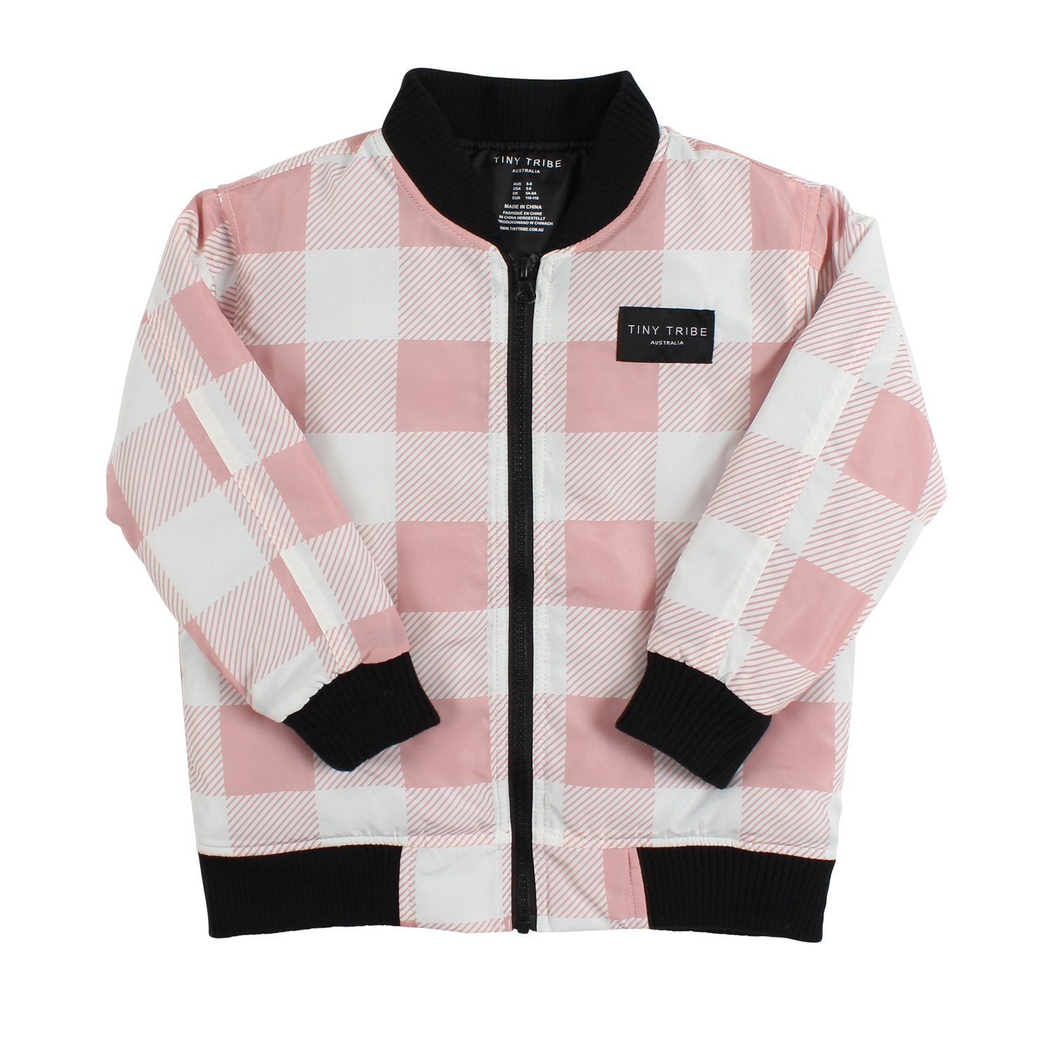 Heart Check Bomber Jacket