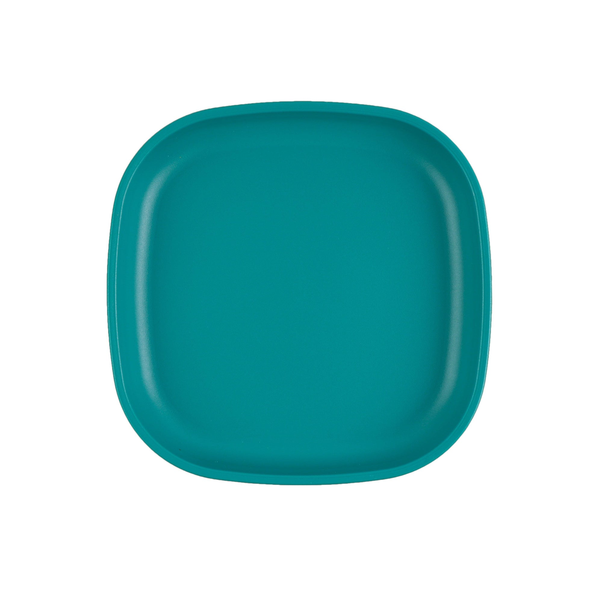 Large Flat Plate (Teal)