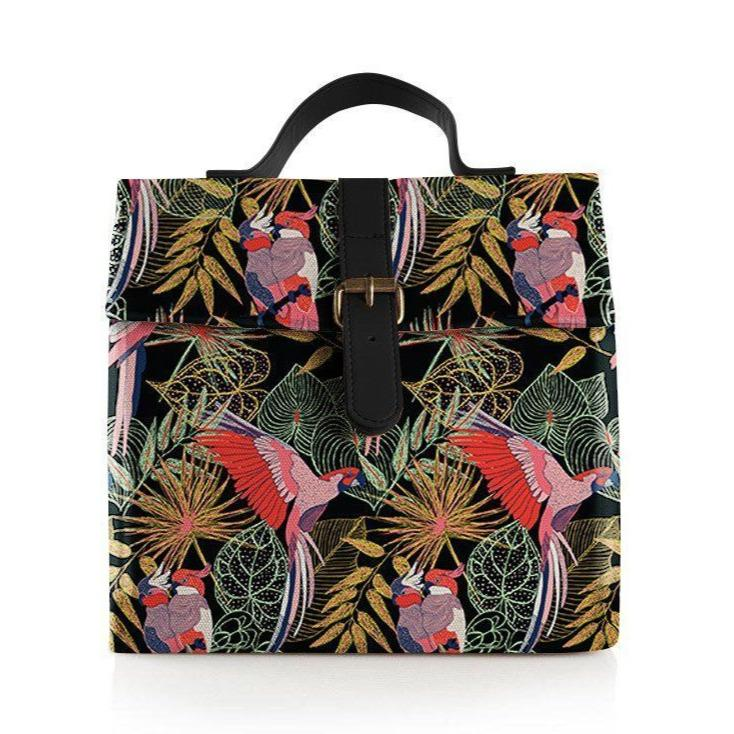 Tropical Birds Lunch Bag (Large)