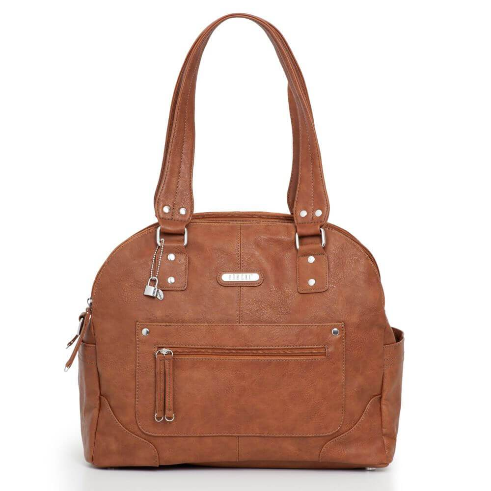 Tuscan Bowler Bag (Tan)
