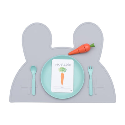 Bunny Placemat (Grey)