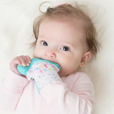Teething Mitt (Pink)