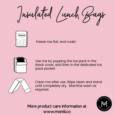 Insulated Lunch Bag (Chasing Rainbows)