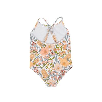 Vintage Floral Bathers (Golden)