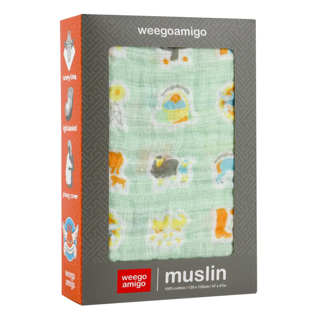 Muslin Swaddle (Farm)