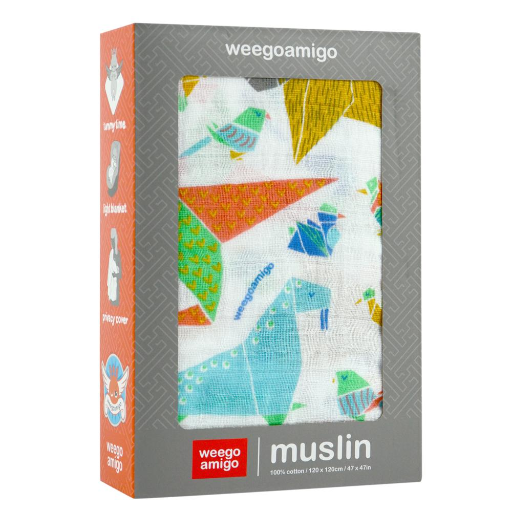 Muslin Swaddle (Textilgami)