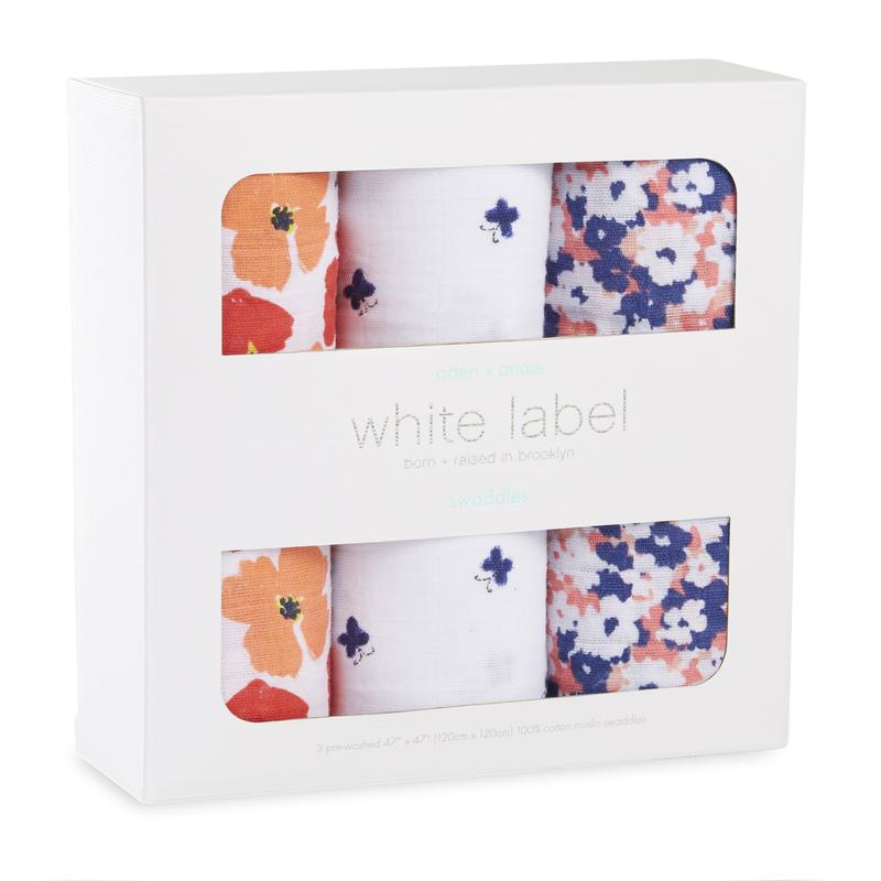 Flora Classic Swaddles (3 Pack)
